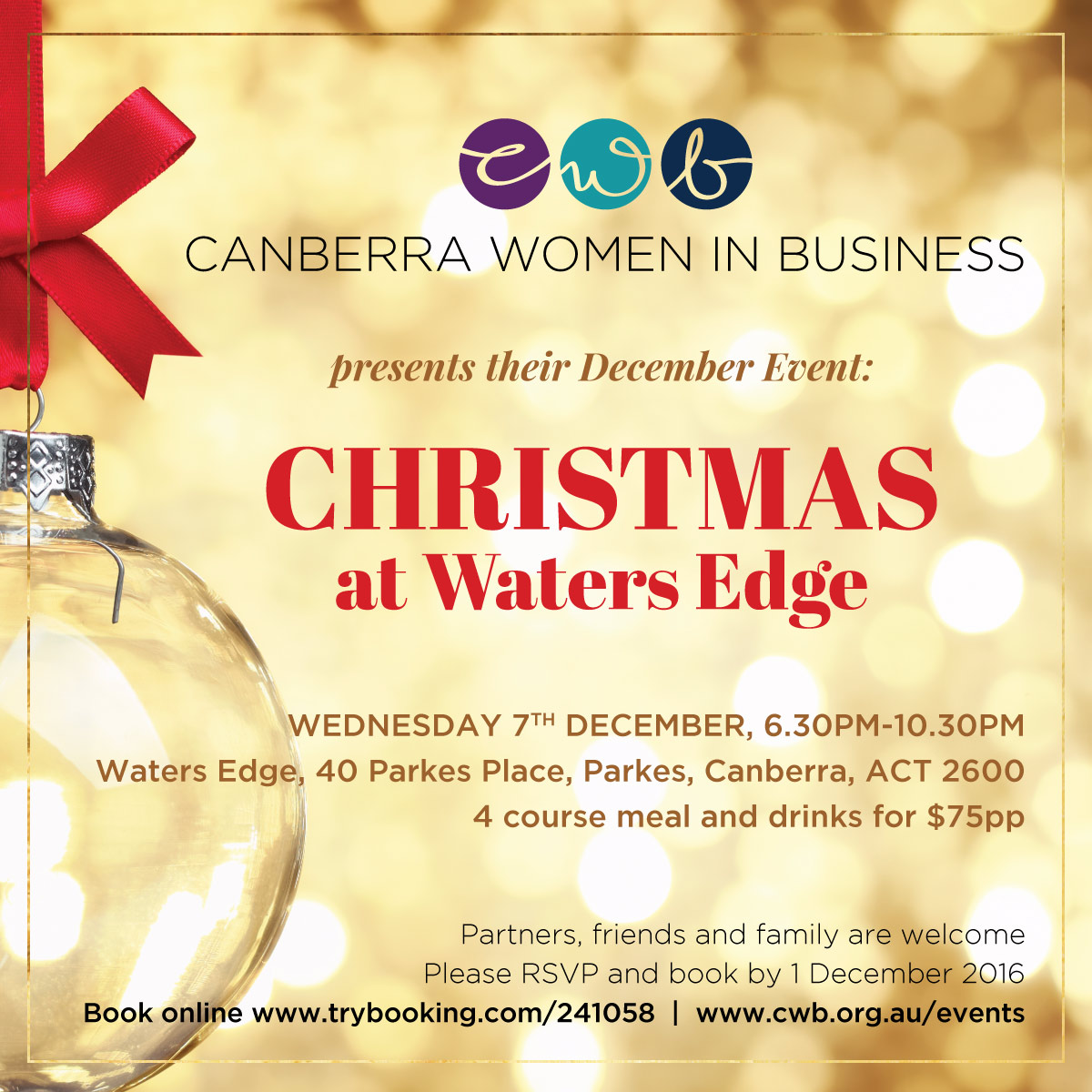 CWB Christmas Event 2016