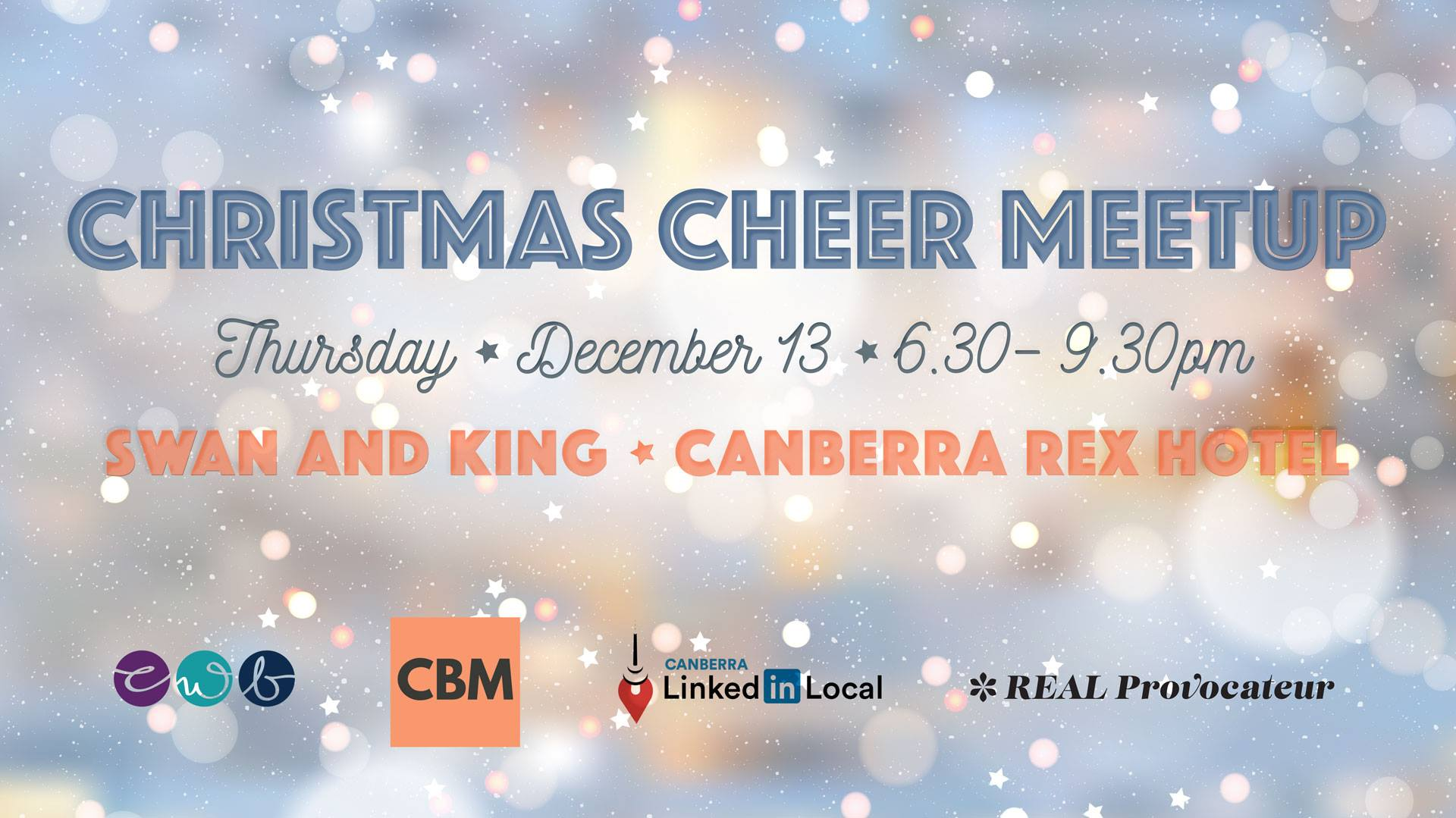 Christmas Cheer Meetup - Canberra Women in Business